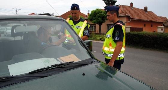 Fokozott ellenőrzésekre számíthatnak a közlekedők (Archív fotó: Melega Krisztián)