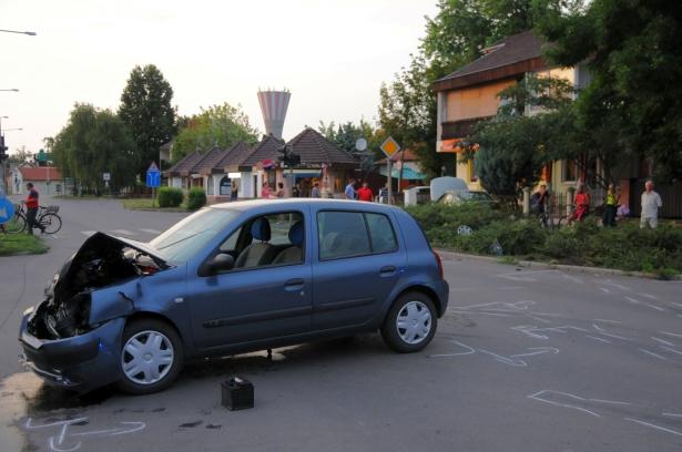 Melega Krisztián fotója a balesetről (még több képért klikkelj)