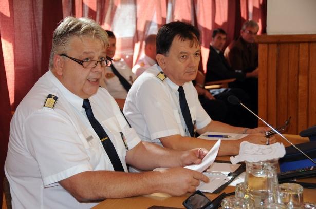 Czecher Péter és Hudák Pál - beszámoltak, hogy dolgoztak (klikk a képre) Fotó: Kecskeméti Krisztina