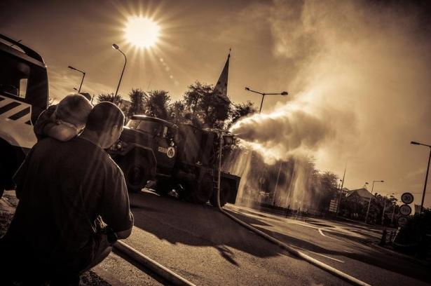 Működésben a MIG-15 hajtóműves jármű (klikk a képre) Fotó: Rajki Judit