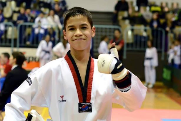 Az ifjú tehetség a verseny után (Fotó: Berei Béla)