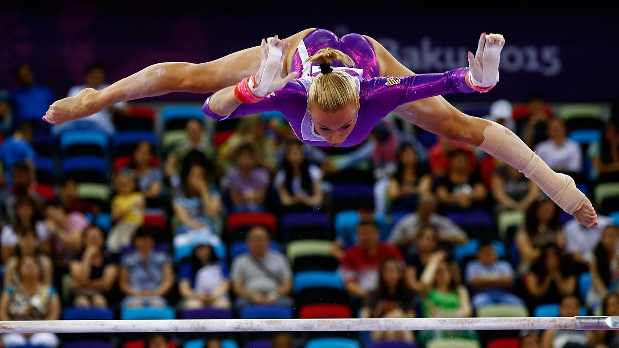 Dorina Bakuban is kiválóan teljesít (Fotó: Jamie Squire/Getty Images)