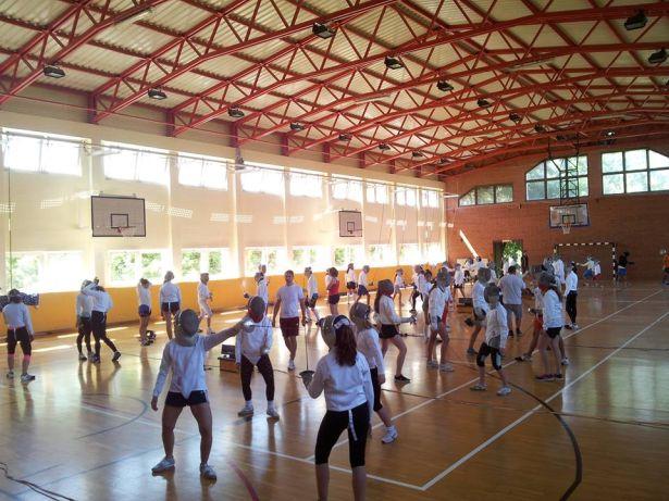 Európa legnagyobb vívó edzőtáborában jártak az orosháziak (Fotó: egyesület)