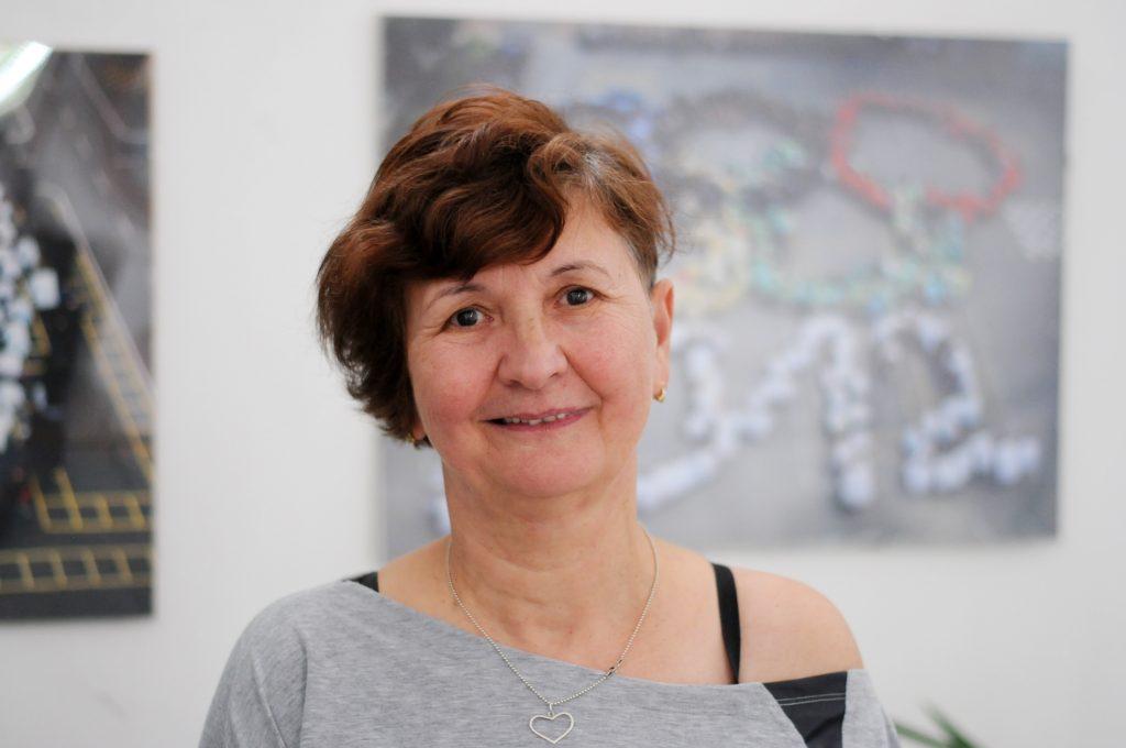 Tompáné Barabás Edit, a Vörösmarty általános iskola tanítója (Fotó: Kecskeméti Krisztina)