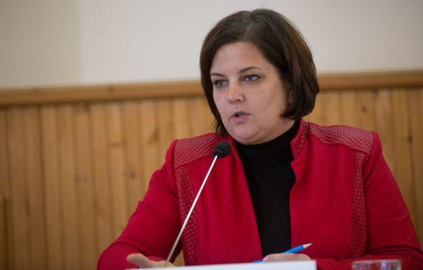 Fejes Róbertné alpolgármester Fidesz (klikk a képre) Fotó: Rosta Tibor
