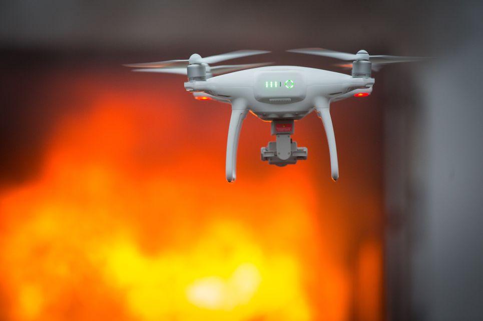 A Körös Mentőcsoport kutató drónja is rögzítette a bemutatót