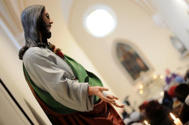 A templombelső és berendezés is teljesen megújult (klikk a képre) Fotó: Kecskeméti Krisztina