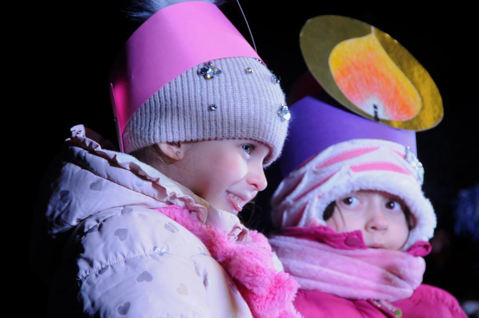 Őszinte gyermeki boldogság az arcokon (Fotó: Kecskeméti Krisztina)
