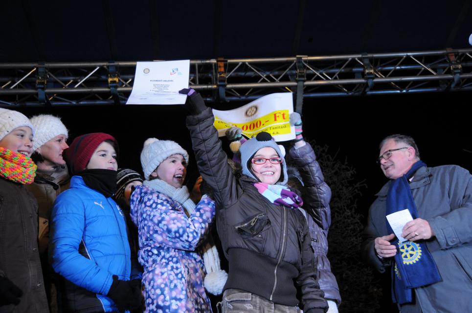 A Rotary aranyvasárnapra hagyta pályázatának eredményhirdetését (Fotó: Kecskeméti Krisztina)
