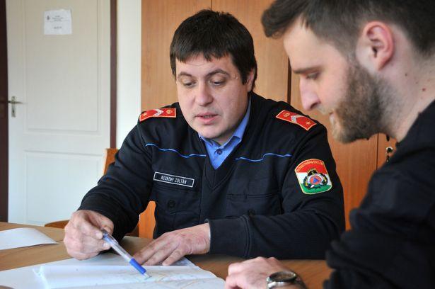 Számos ügyben fordulhatunk az Orosházi Katasztrófavédelmi Kirendeltséghez (Fotó: Rajki Judit)