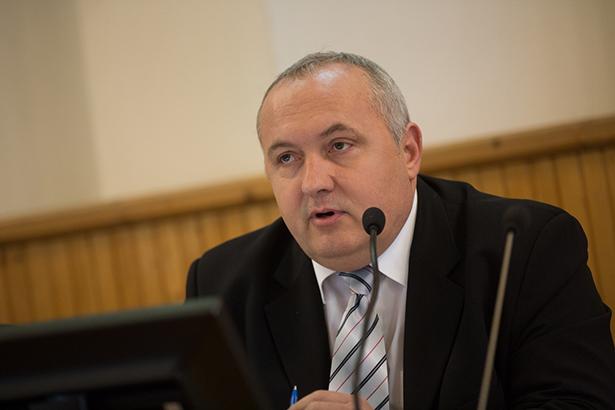 Dávid Zoltán polgármester (Fotók: Rosta Tibor)