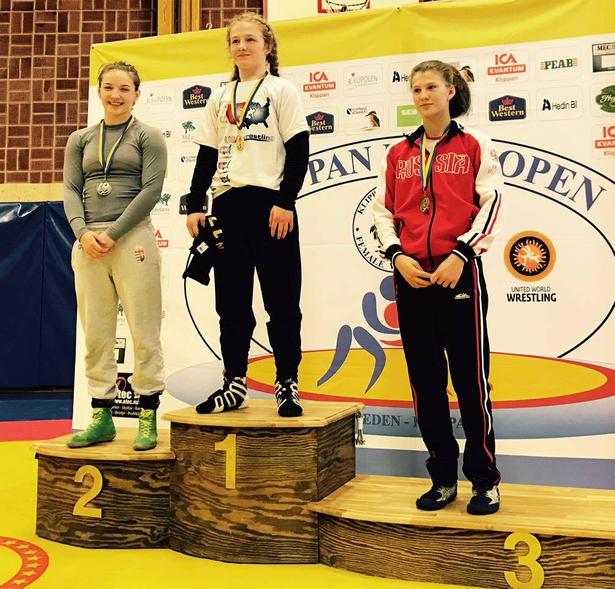 A svédországi versenyen Szél Anna ezüstérmet szerzett (Fotó: egyesület)