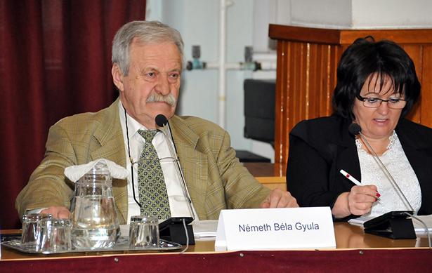 A gyopárosi helyszín mellett érvelt Németh Béla képviselő (klikk a képre)