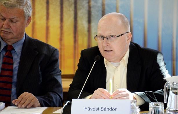 Füvesi Sándor (klikk a képre) Fotó: Rajki Judit