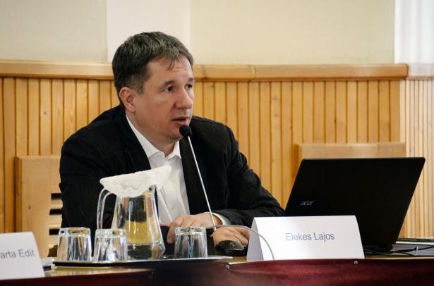 Elekes Lajos (klikk a képre) Fotó: Rajki Judit
