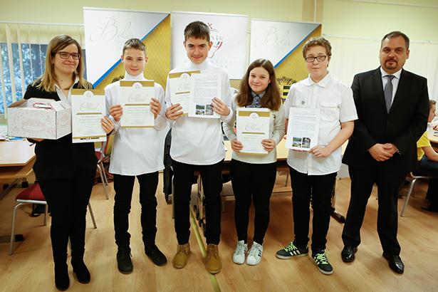 Zalai Mihály gratulált a gyulai diákoknak (Fotó: Zentai Péter)