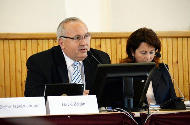 Dávid Zoltán polgármester (Fotó: Rajki Judit)