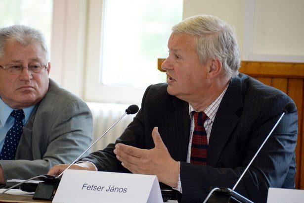 Fetser János (Fotó: Rajki Judit)