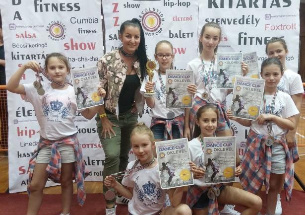 Újabb országos versenyen bizonyított a Candy Dance Crew (Fotó: egyesület)