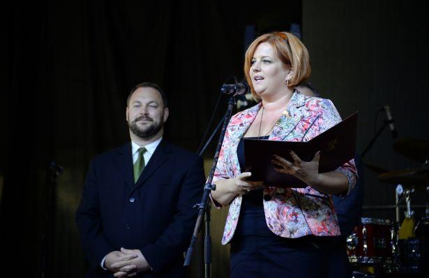 A libamáj népszerűsítése a fesztivál célja - mondta Fejes Róbertné alpolgármester a megnyitón (Fotó: Rajki Judit)