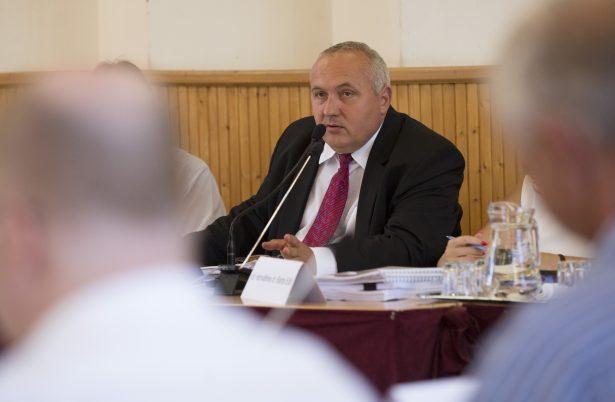 Dávid Zoltán szerint számos előrelépés történt szociális területen az elmúlt időszakban (klikk a képre) Fotó: Rosta Tibor