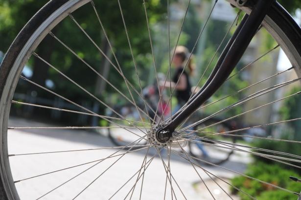 A kerékpározás nem veszélytelen üzem (Fotó: Kecskeméti Krisztina)