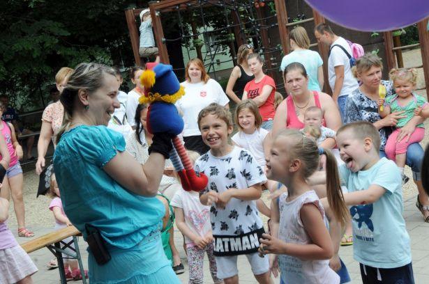 A programok sora a Kerekítővel kezdődött, mely nem csak a legkisebbeknek szólt Fotó: Kecskeméti Krisztina