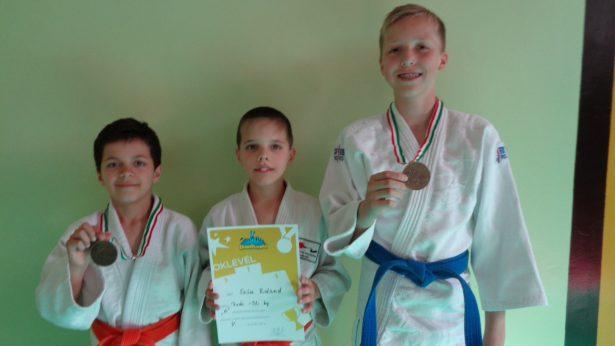 Bőte Dominik (b), Szűcs Roland és Patyi Ákos (Fotó: Egyesület)