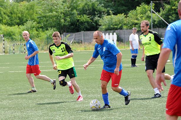 Sportszerű játék, de férfias küzdelem jellemezte a tornát (Fotó: Kecskeméti Krisztina)