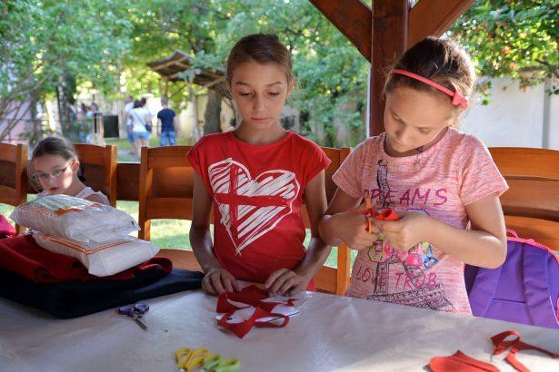 A gyerekeknek számos programmal készültek a szervezők (klikk a képre) Fotó: Rajki Judit