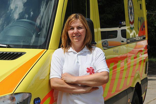 Több mint két évtizedes mentőtiszti tapasztalata sokat nyomott latba (Fotó: Kecskeméti Krisztina)