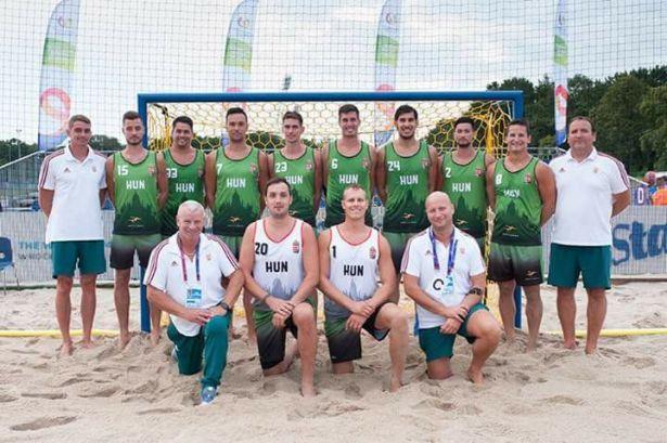 Negyedik helyen végzett Wroclawban a strandkézilabda-válogatott (Fotó: Csomós Angéla/Facebook)