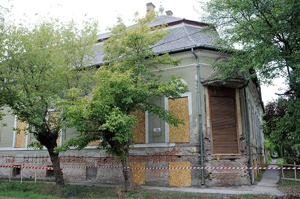 Rövidesen rendeződhet a patinás épület sorsa Fotó: Kecskeméti Krisztina