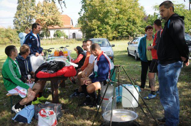 A sport és a főzés idén sem maradt el (klikk a képre) Fotó: Kecskeméti Krisztina