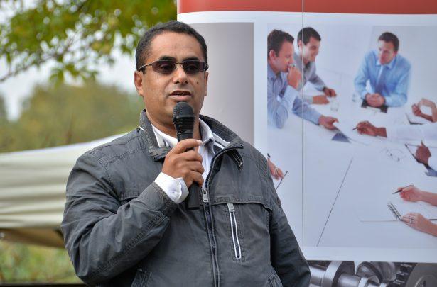 A kuratóriumi elnök szerint egy álom válik valóra (klikk a képre) Fotó: Rajki Judit
